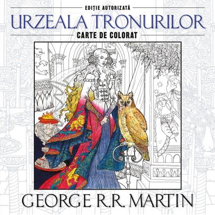 urzeala_tronurilor_carte_de_colorat_