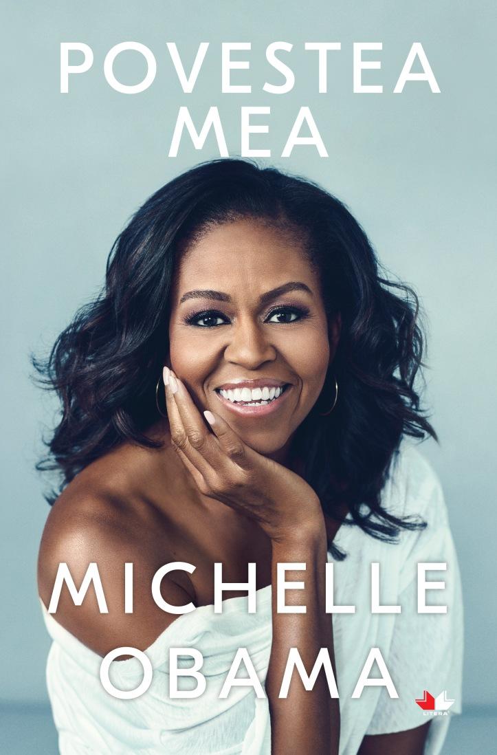 Copertă Editura Litera Povestea mea, Michelle Obama.jpg